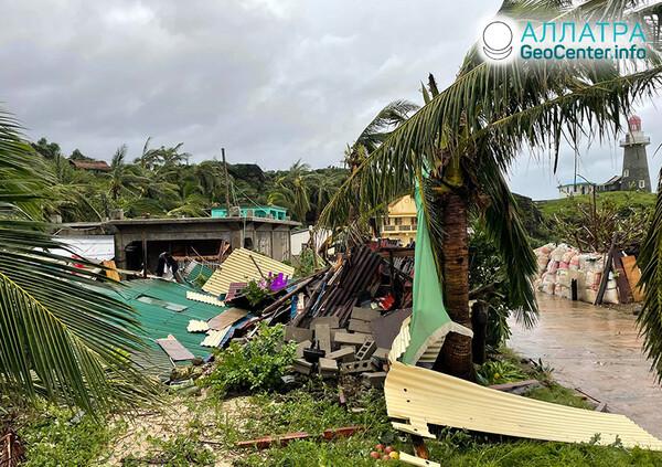 Tropické cyklóny vo svete, september 2021