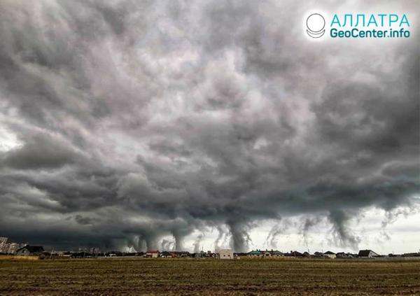 Ураганы в Одесской области (Украина), август 2019