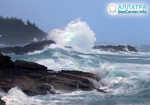 Ураганы в США и на Бермудах, сентябрь 2020