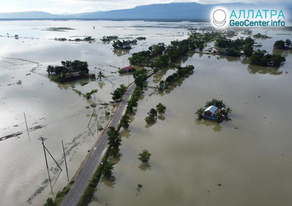 Внезапные наводнения, июль 2020