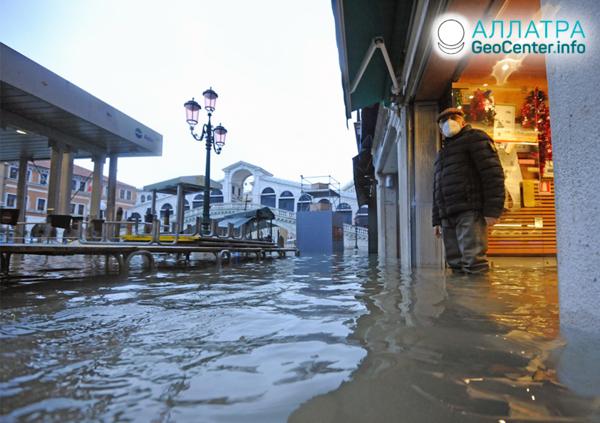 Волна наводнений в мире, декабрь 2020