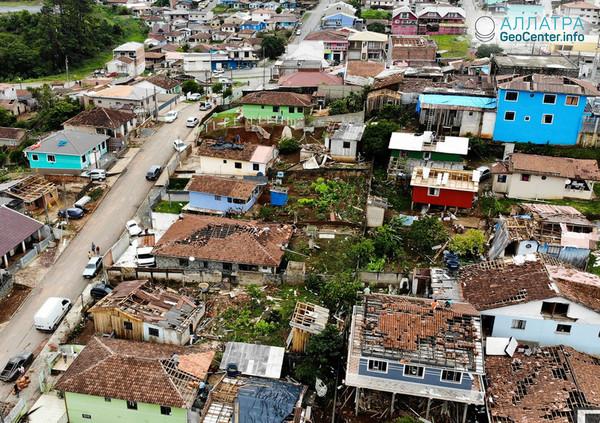 Вспышка торнадо: США и Индонезия, Бразилия и Аргентина, 29 ноября-1 декабря 2018 года
