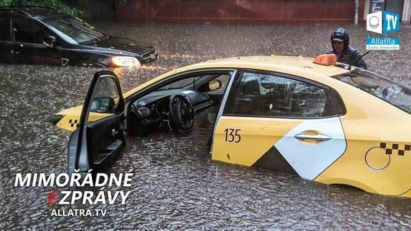 Záplavy na planetě! Povodně a bouře: Česko, Maďarsko, Rusko. Lesní požáry → Dálný východ, USA