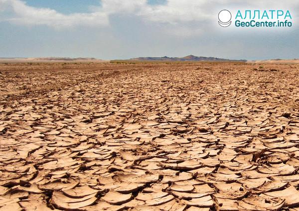 Засуха в Намибии, май 2019