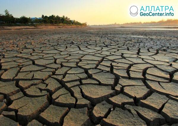 Sucho v krajinách sveta