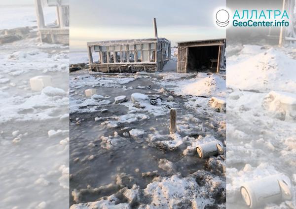 Затопления на Камчатке, Россия, январь 2020