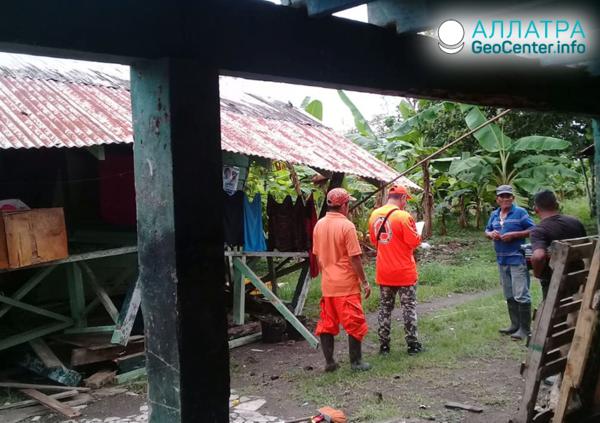 Землетрясение на границе Коста-Рики и Панамы, 12 мая 2019