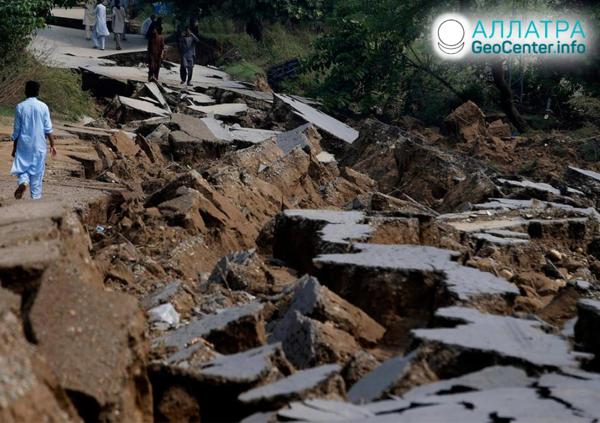 Zemetrasenie v Pakistane, september 2019